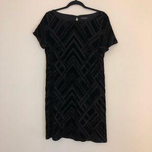 White House Black Market velvet dress